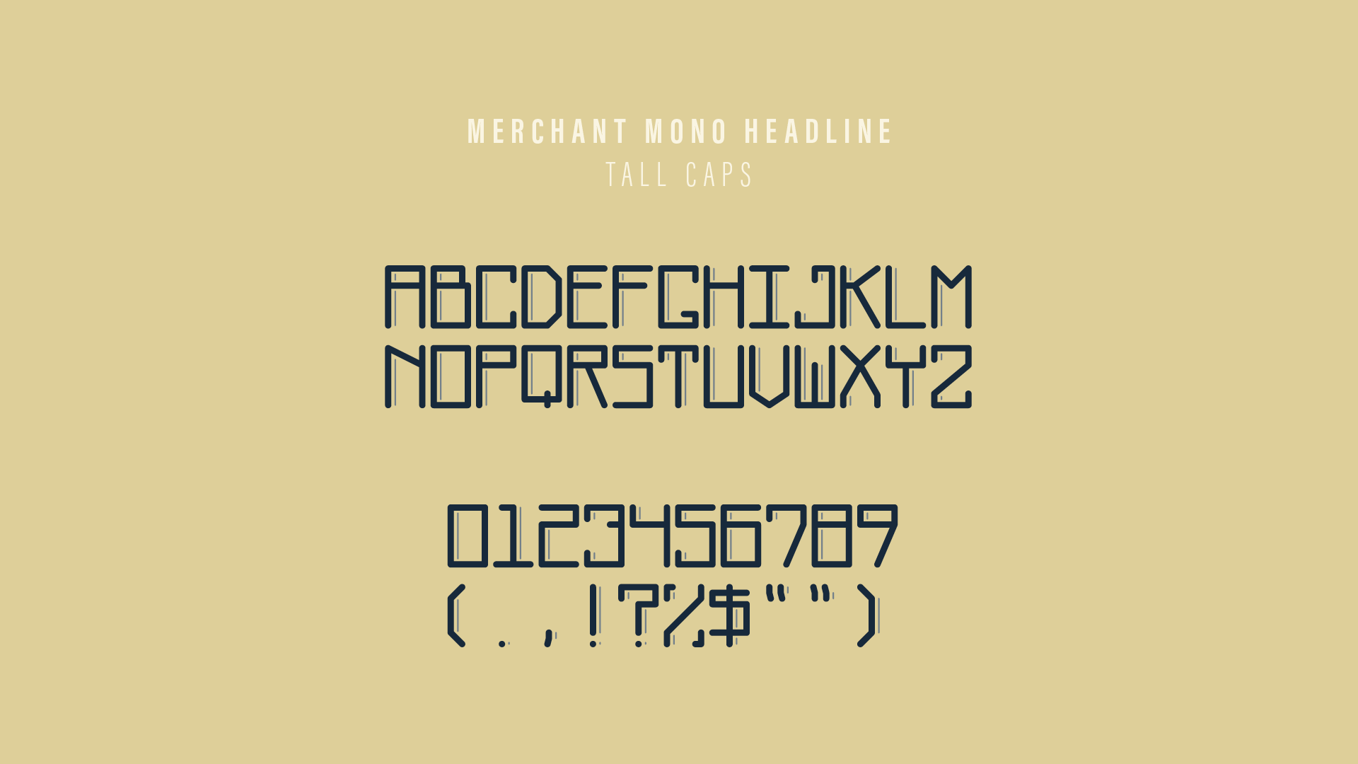 Merchant Project Images – Typeface 1