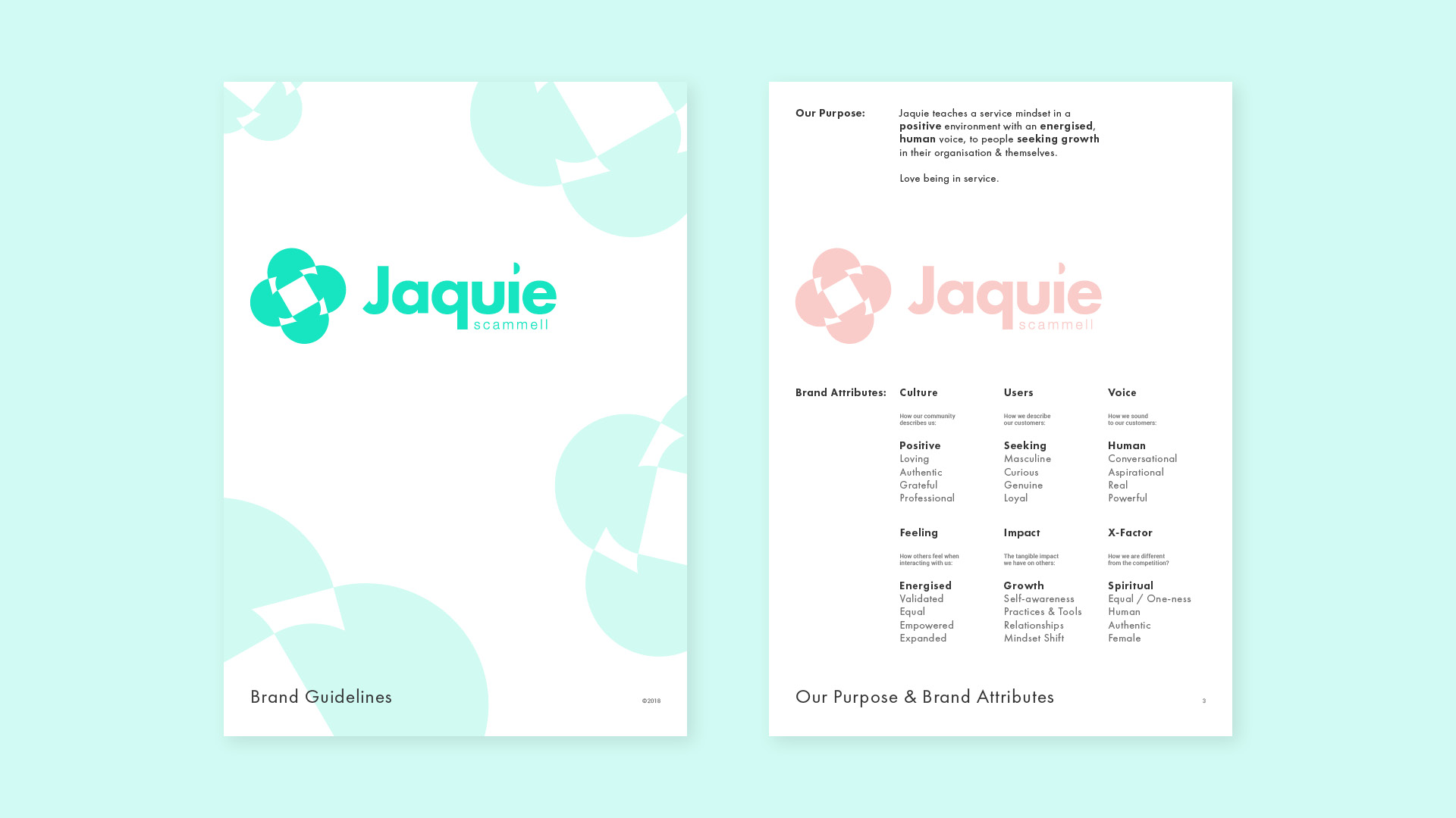 Jaquie Scammell Branding 2019 – Brand Guidelines 1