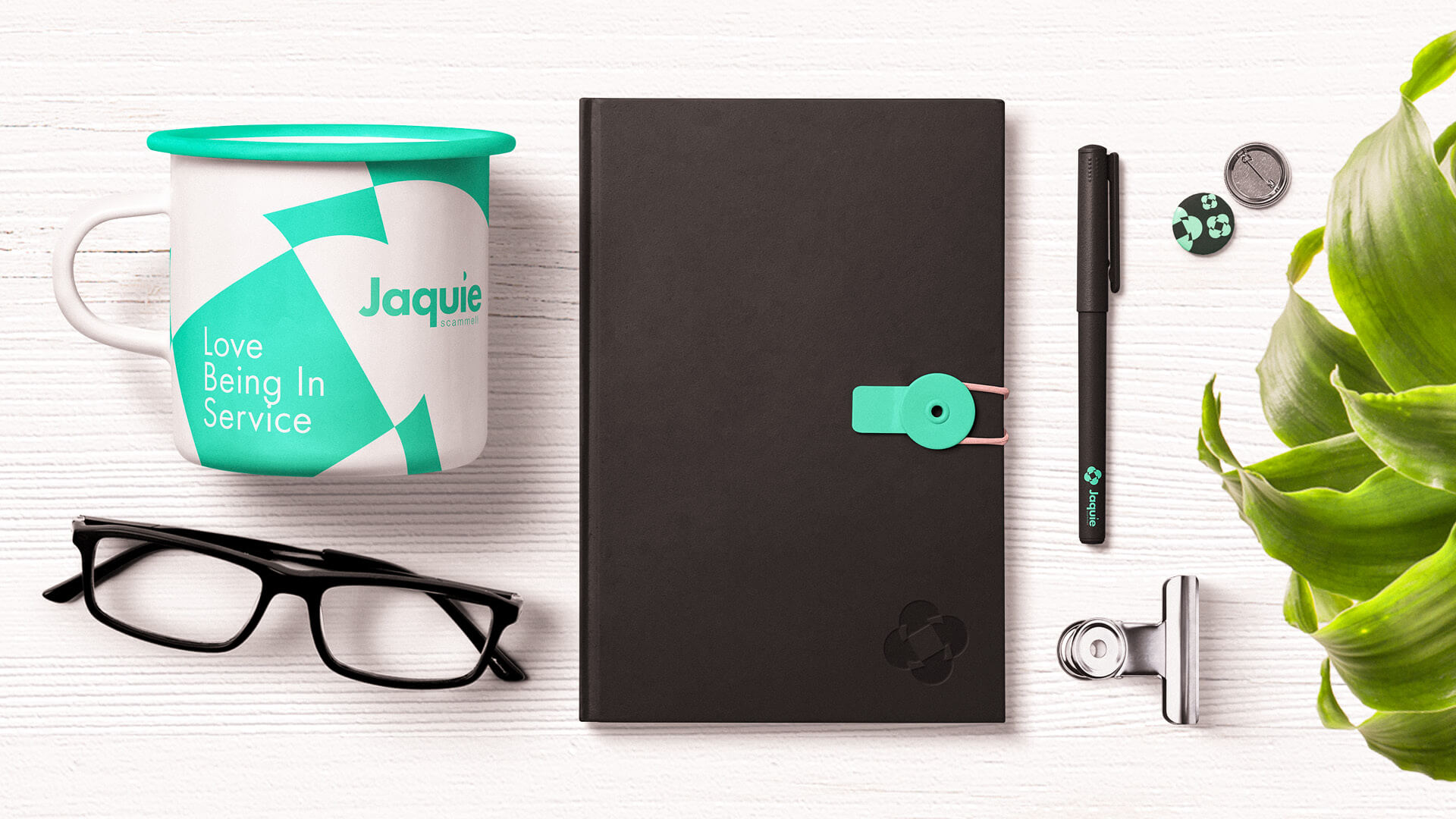 Jaquie Scammell Branding 2019 – Branded Items