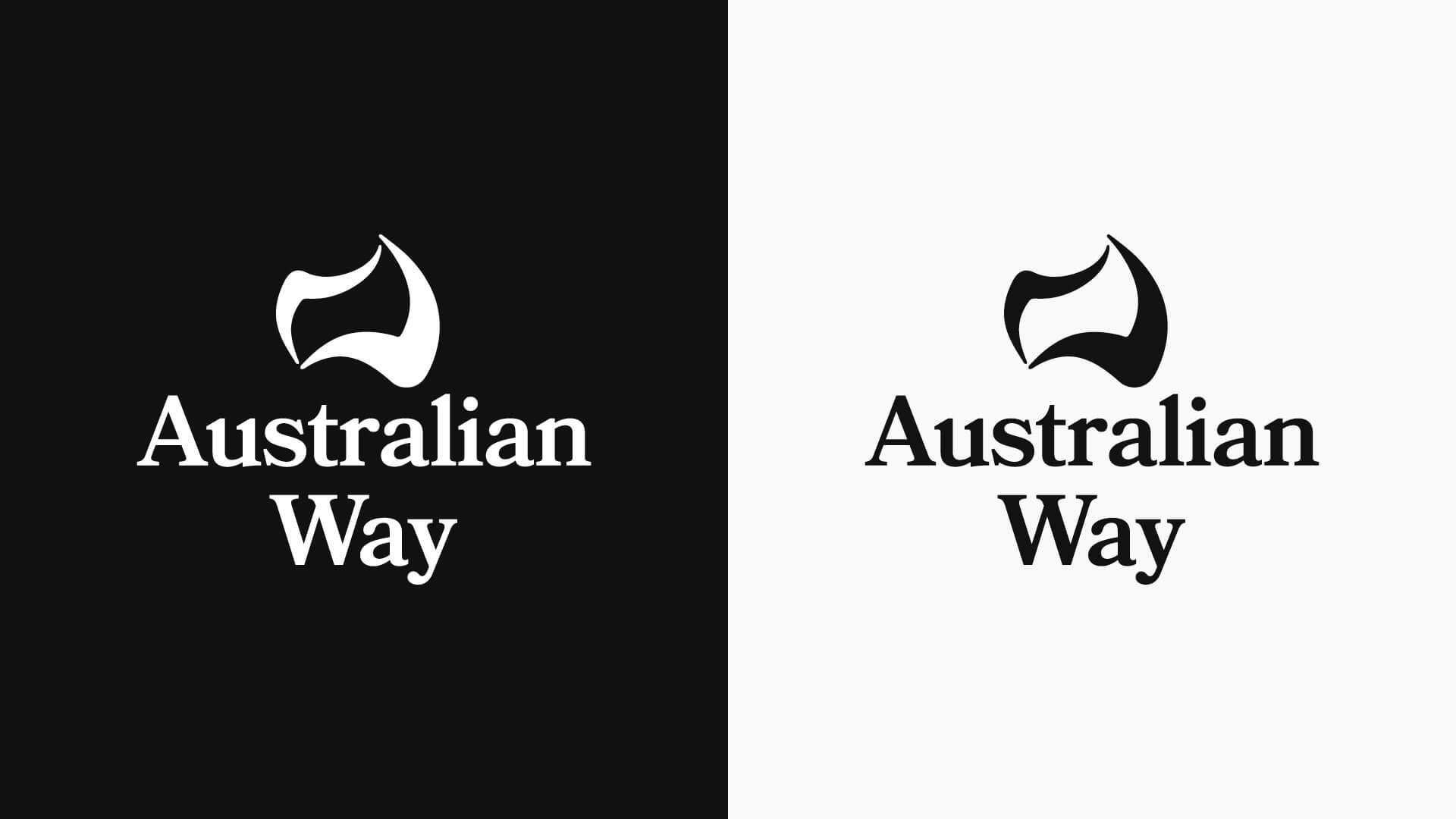 Australian Way Logo Secondary