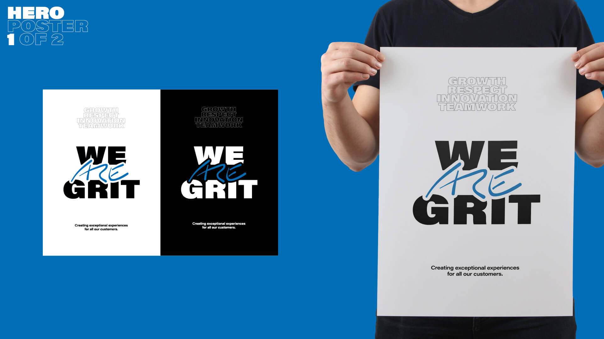 We ARE Grit – Hero Poster 1
