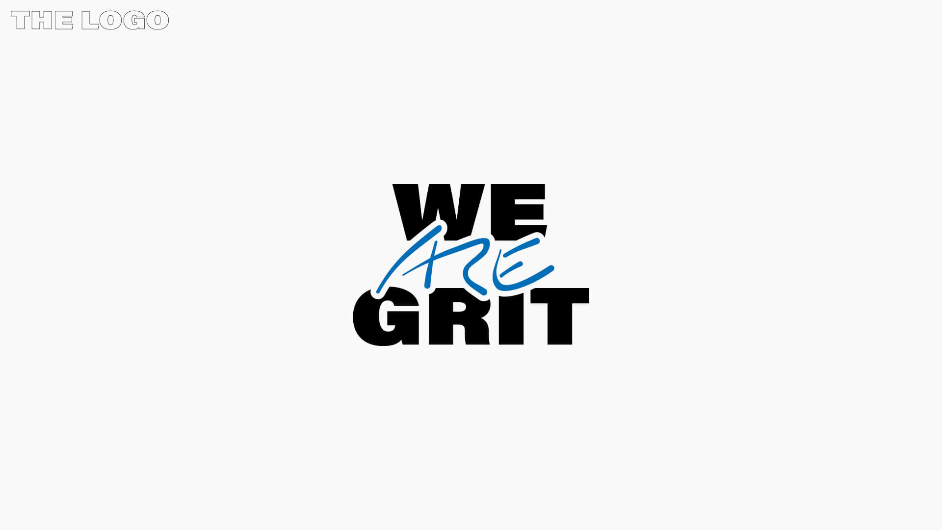 We ARE Grit – Logo