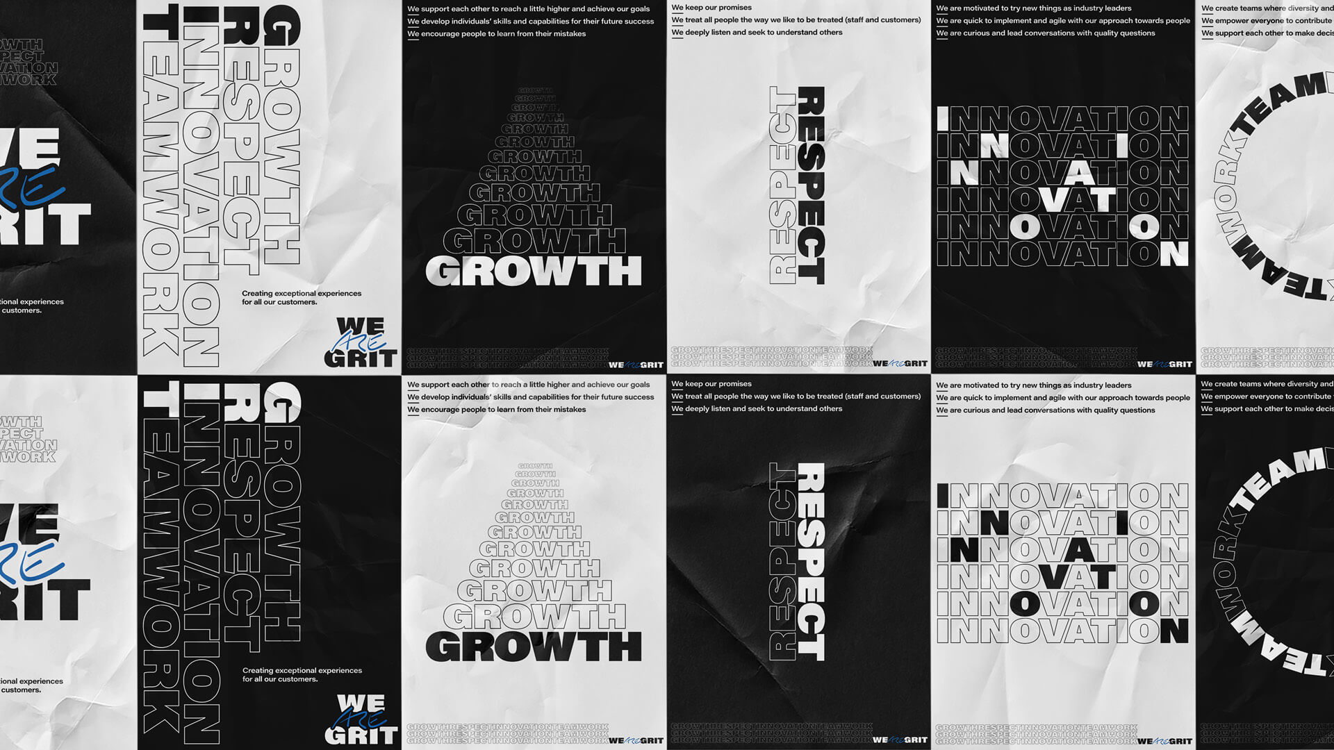 We ARE Grit – Poster Collage
