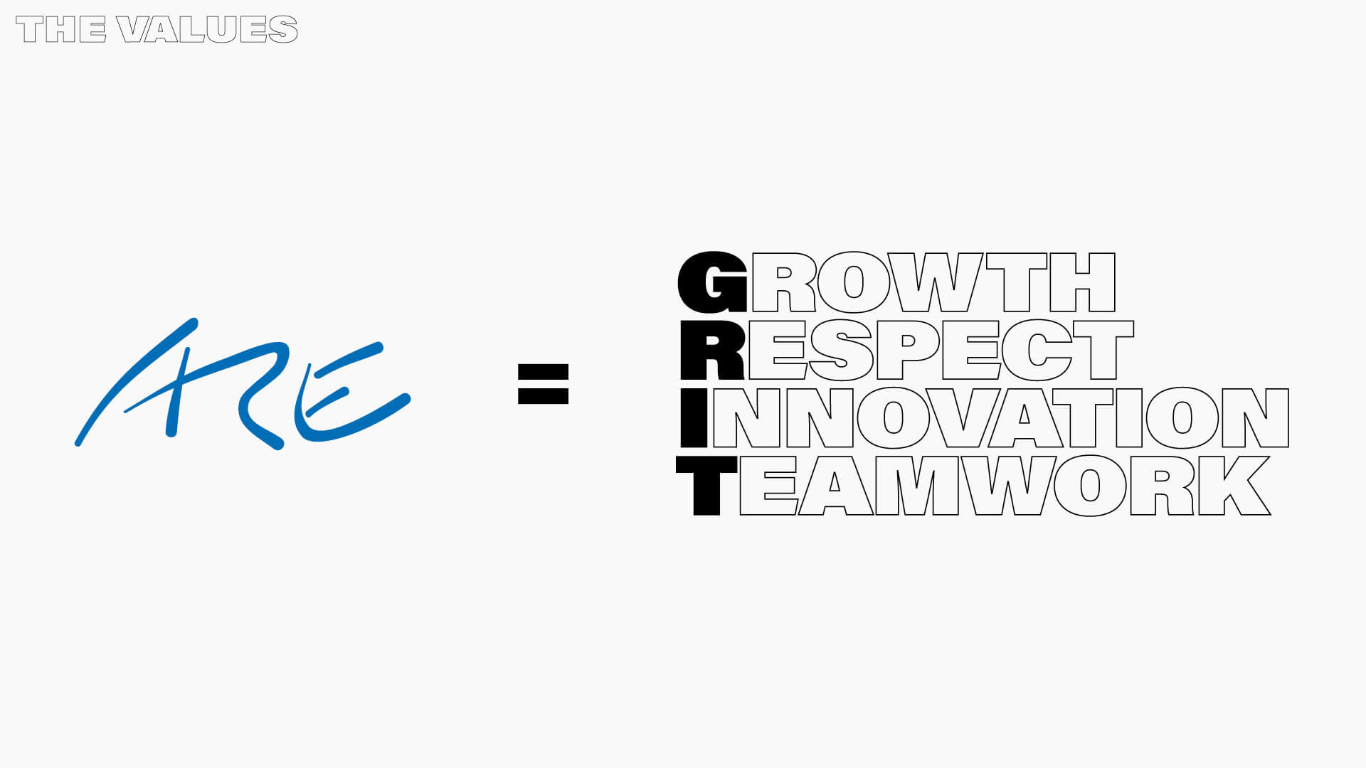 We ARE Grit – Values