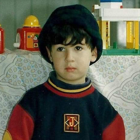 Yianni as a toddler